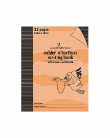 Cahier d'exercices Interligné Orange (LG20)