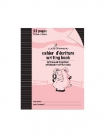 Cahier d'exercices Interligné Rose (LG20)